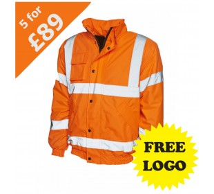 Hi-Viz bomber jacket bundle deal
