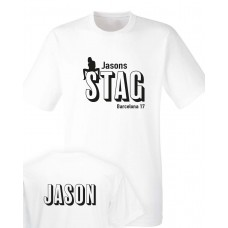 Stag and Hen Party printed T-shirt