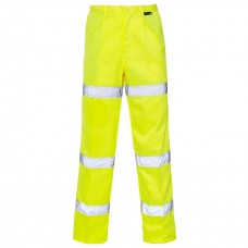 Hi-Viz 3 Band Polycotton Trousers