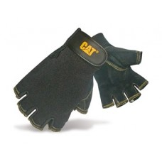 Caterpillar Pigskin Finger-less Glove