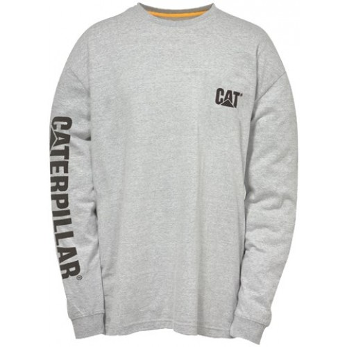 Caterpillar Trademark Banner Tee Shirt