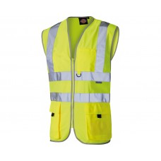Dickies Hi Vis Technical Safety Waistcoat