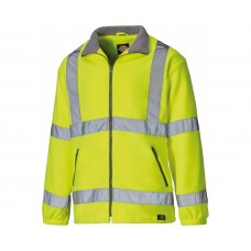 Dickies High Visibility Lined Fleece Jacket