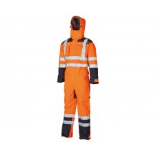 Dickies Waterproof Hi-Viz Safety Coverall