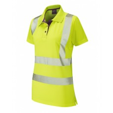 Leo Workwear Pippacott Coolviz Plus Ladies Polo Shirt