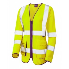 Leo Workwear BeaworthyY Ladies Sleeved Superior Waistcoat