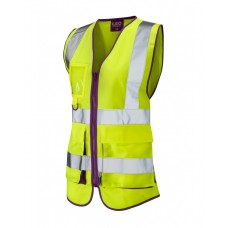 Leo Workwear Lynemouth Ladies Superior Waistcoat