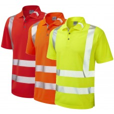 Leo Workwear Broadsands Coolviz Ultra Polo Shirt