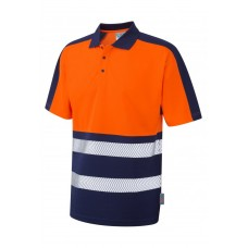 Leo Workwear Watersmeet Dual Colour Coolviz Plus Polo Shirt