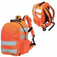 Portwest quick release Hi-Visibility Backpack Reflective