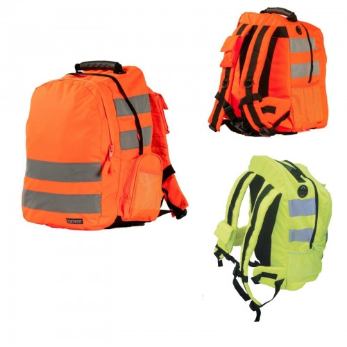 Portwest Hi-Visibility Backpack Reflective