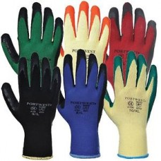 Portwest Grip Latex Palm Safety Work Wear Gloves