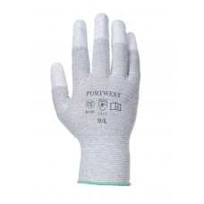 PW Anti static PU Fingertip Glove