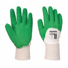 PortWest Unisex Latex Open Back Crinkle Glove