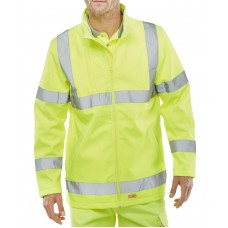 Soft Shell Lightweight Hi-Viz Jacket