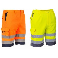 Portwest Hi-Viz Poly Cotton Shorts