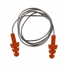 PW Safety Reusable TPE Corded Ear Plug x 50