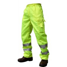 Hi-Viz Poly Cotton Trousers