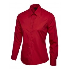Ladies Poplin Full Sleeve Shirt