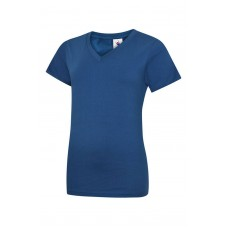 Uneek Ladies Classic V-Neck T-Shirt