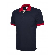 Contrast Polo Shirt