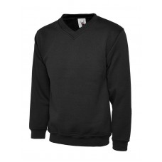 Uneek V-Neck Premium Sweat Shirt
