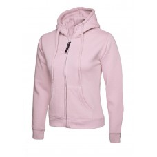 Uneek Ladies Zip Hooded Sweat Shirt