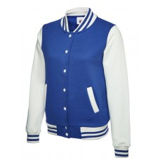Uneek Ladies Varsity Jacket