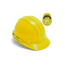 Yellow 6 Point Safet Helmet
