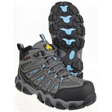 Amblers AS802 Waterproof Non-Metal Ladies Safety Boots
