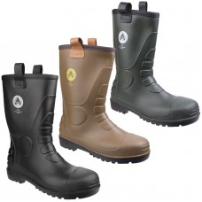 Amblers FS90 PCV Safety Rigger Boot