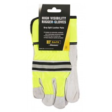 BeeSwift High Visibility Rigger Gloves