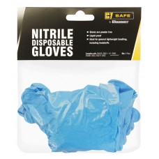 BeeSwift Nitrile Disposable Glove Pack 5 Pairs