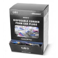 Beeswift QED Disposable Corded Ear Plugs (Box of 200)