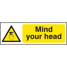 Mind your head Safety Sign (5 PK)
