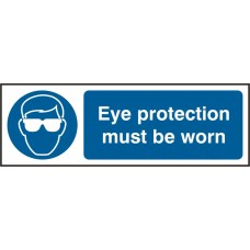 Eye protective must be worn Safety Sign (5 PK)