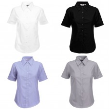 Fruit of the Loom Women's Fit Oxford Shirt