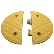 Jumbo 5cm End Caps Yellow (Pair)