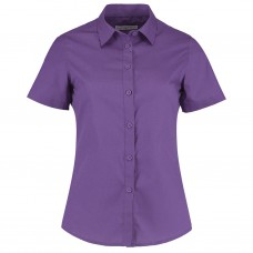 Kustom Kit Women's Short Sleeve Poplin Shirt