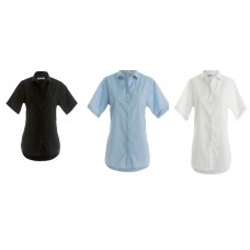 Kustom Kit Ladies Non-Iron Cotton Shirt