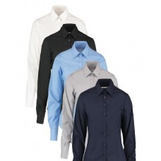 Kustom Kit Kit Ladies' Long Sleeve Business Shirt