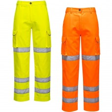 Ladies hi-viz trousers
