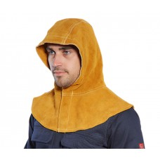 Portwest - Fire Resistant Split Cowhide Leather Welding Hood