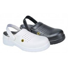 Portwest Compositelite ESD Perforated Safety Clog SB AE