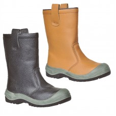 Portwest Steelite Rigger Boot Pro S3 CI (with scuff cap)