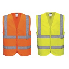 Portwest Zipped Band & Brace Vest