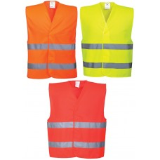 Portwest Hi-Viz Two Band Vest