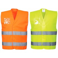 Portwest Hi-Viz Duel ID Holder Vest