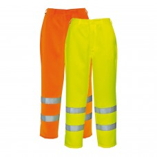 Portwest Hi-Viz Poly-cotton Trousers