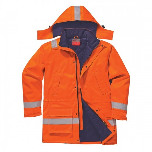 Portwest Flame Resistant Anti-Static Winter Jacket